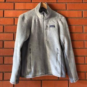 PATAGONIA Women's Gray Full Zip Fleece Jacket